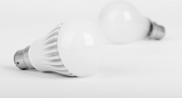 new and old light bulb
