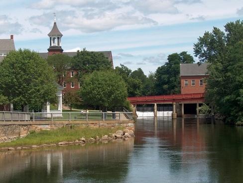 new hampshire belknap mills river