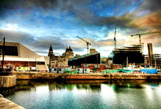new liverpool skyline