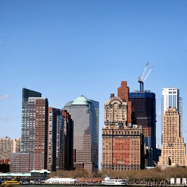 new york city skyline skyscrapers
