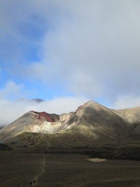 new zealand landscape tongariro