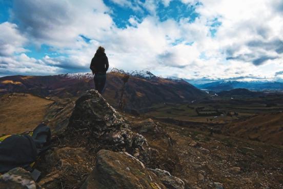 new zealand mountain view