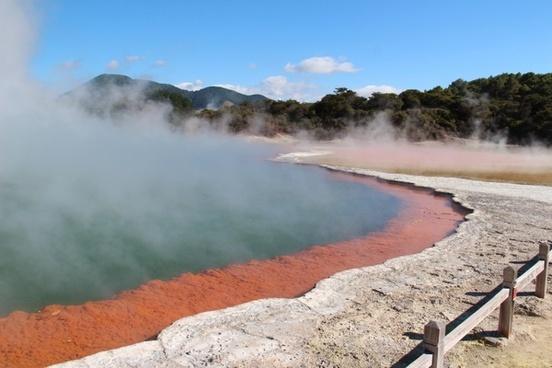 new zealand volcano area rotorua