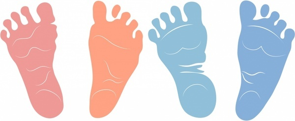 Newborn Footprints
