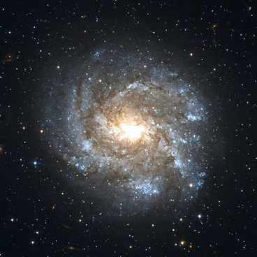 ngc 2082 barred spiral galaxy constellation schwertfisch