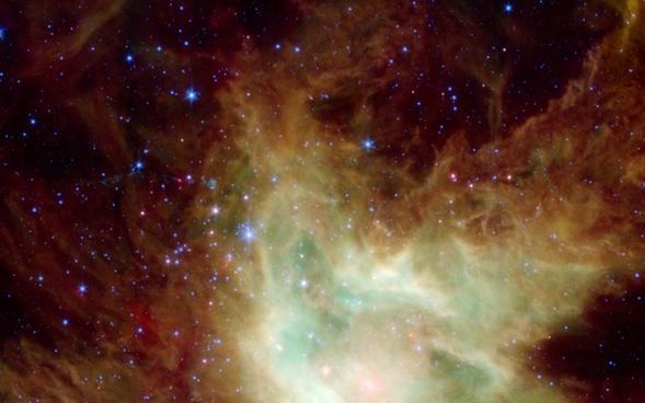 ngc 2264 dark nebula cone nebula