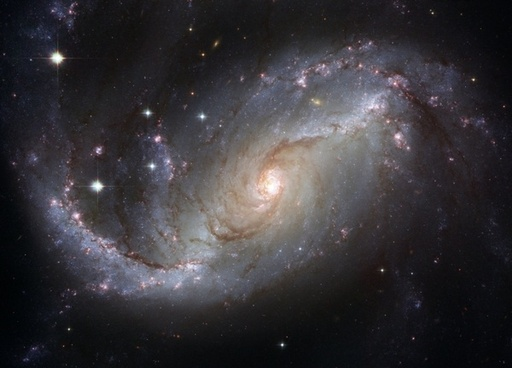 ngc 4414 barred spiral galaxy constellation schwertfisch