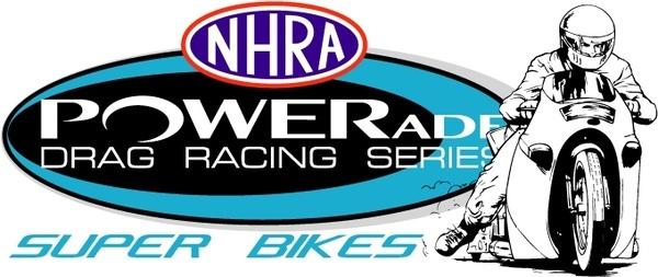 nhra powerade super bikes
