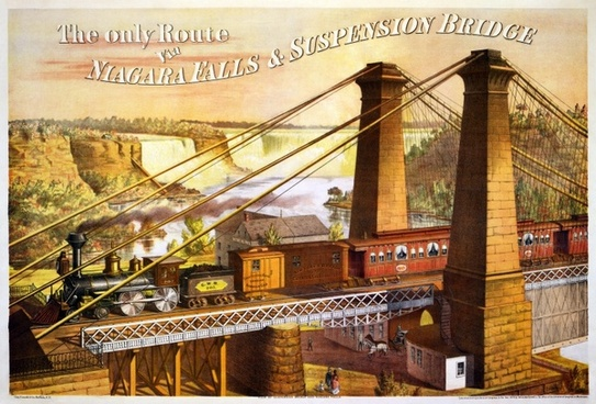 niagara falls niagara if suspension bridge