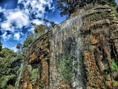 nice france waterfall