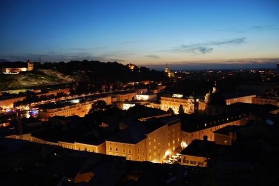 night at salzburg