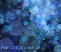 Night Lights Brush Set
