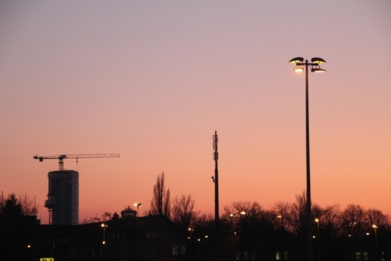 night sky berlin