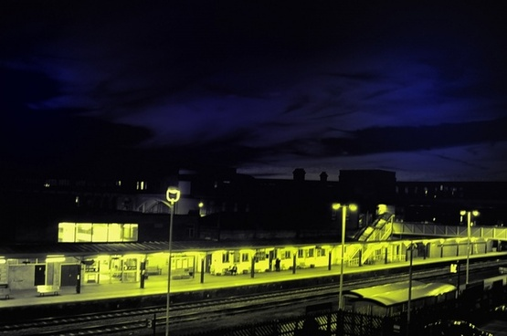 night train station