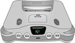 Nintendo 64 silver