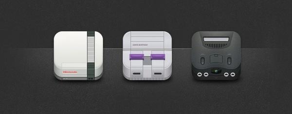 Nintendo Icons