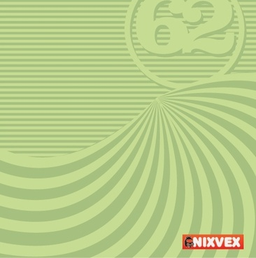 NixVex Free Vector of Op Art Background in Green