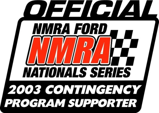 nmra official 2003 contingency program supporter
