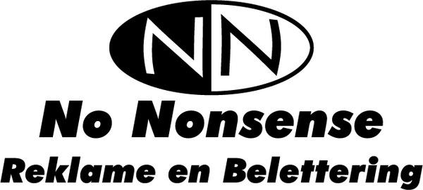 no nonsense 0