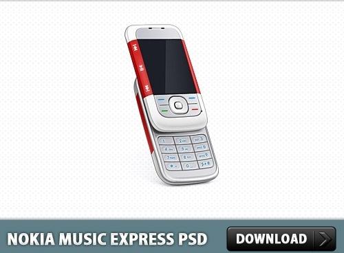 Nokia Music Express Phone PSD