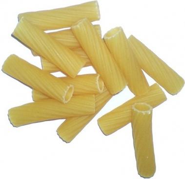 noodles carbohydrates rigatoni