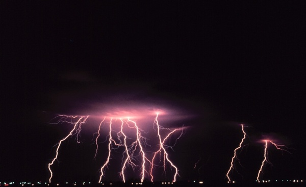 norman oklahoma lightning