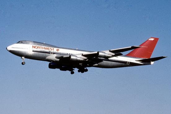 northwest airlines boeing 747 251b n637us64423548