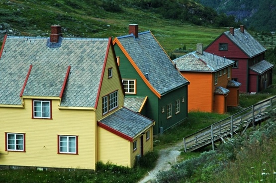 norway houses homes