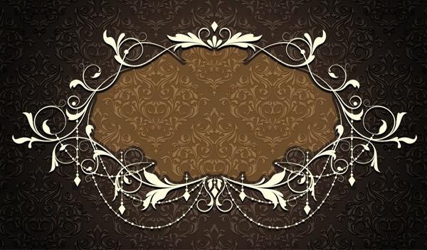 frame template classic european design elegant symmetric