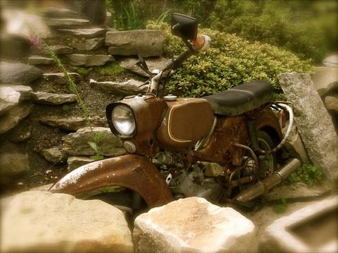 nostalgia summer moped