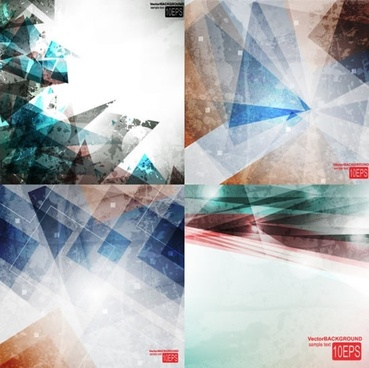 abstract background templates bright modern geometrical decor