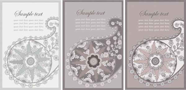 petals background templates flat classic traditional decor