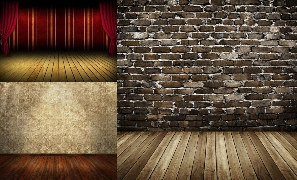 nostalgic wood walls of highdefinition picture