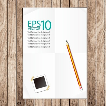 notebook background 02 vector