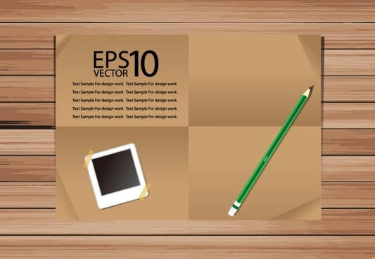 notebook background 03 vector