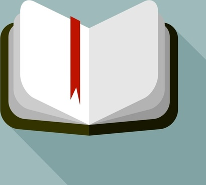 notebook vector flat icon