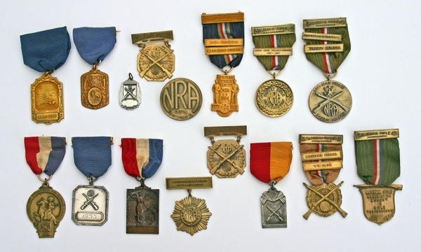 nra and swimming medals