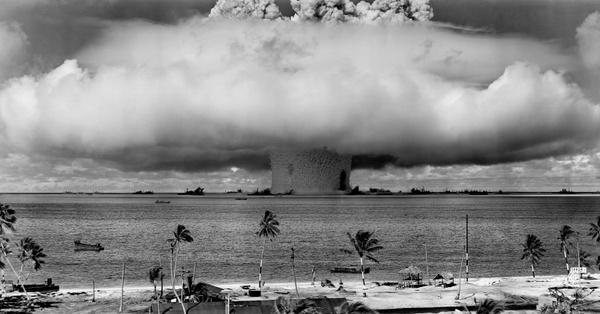 nuclear weapons test nuclear weapon weapons test