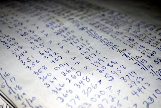 numbers cipher calculation