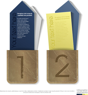 numbers commodity tags design vector