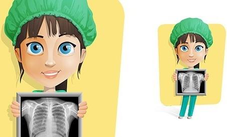nurse vector character