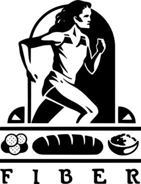 Nutrition Fibers clip art