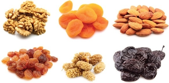 nuts and dried fruit 04 hd pictures