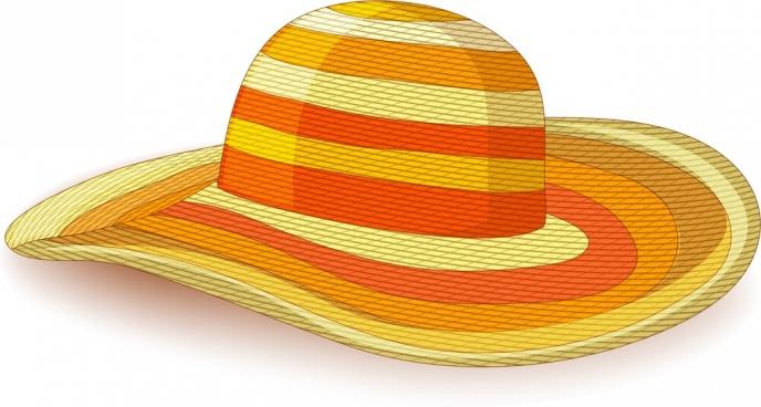 object background woman hat icon colored 3d design