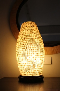 oblong lampshade