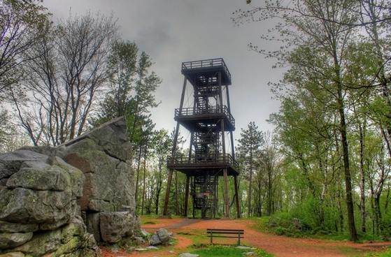 observation tower at rib mountain state park wisconsin