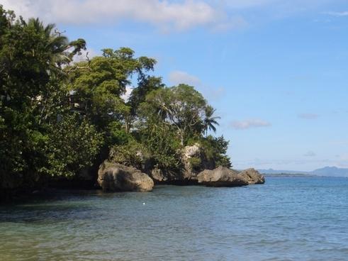 ocean island sea