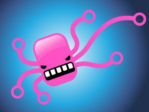 Octopus Comic Character