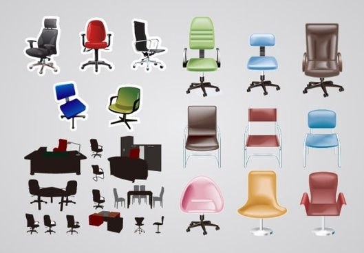 Vector Office Furniture Png Free Vector Download 86 301 Free Vector