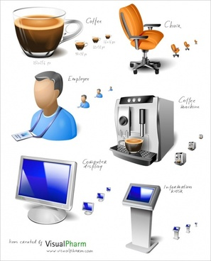 Office Space Icon Set icons pack